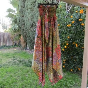Pyramid Collection Dancing Colors XS Maxi Dress